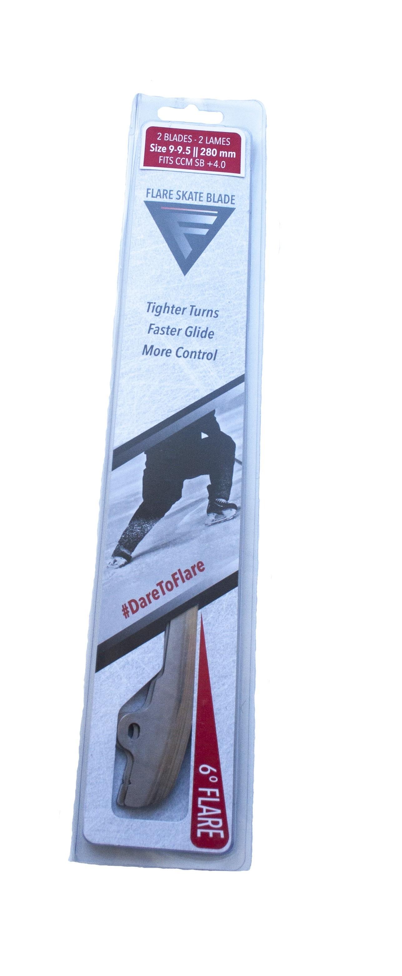 FLARE SKATE BLADE Speed Blade +4.0 Лезвия 6 Degree