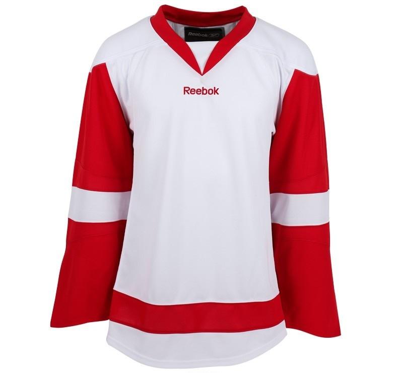 Reebok Detroit Red Wings Edge Yth. Хоккейная Майка Гостевая