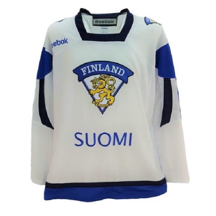 Reebok Team Finland Adult Майка Хоккейная Гостевая